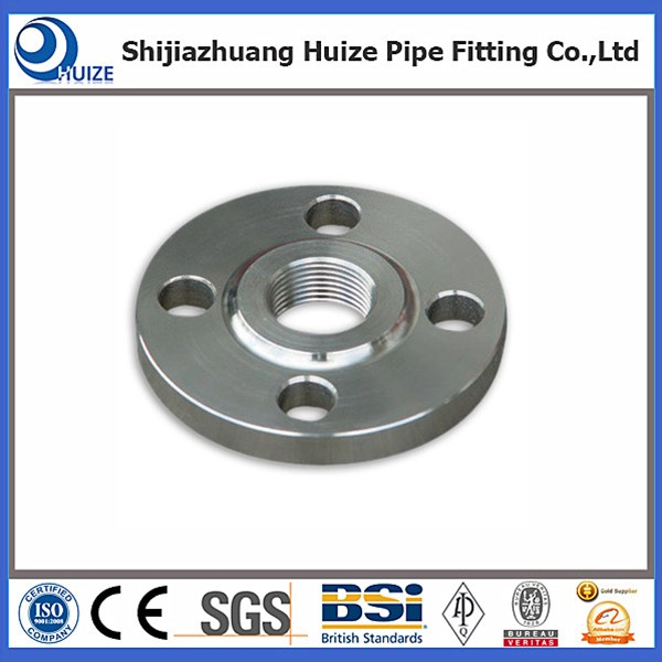 Slip on weld stainless steel flanges