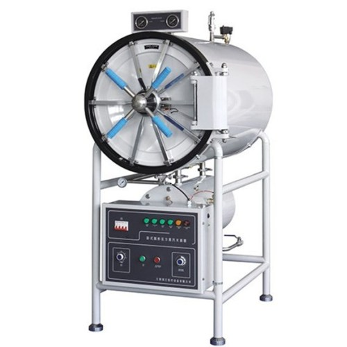 Long working life horizontal 200 litres autoclave