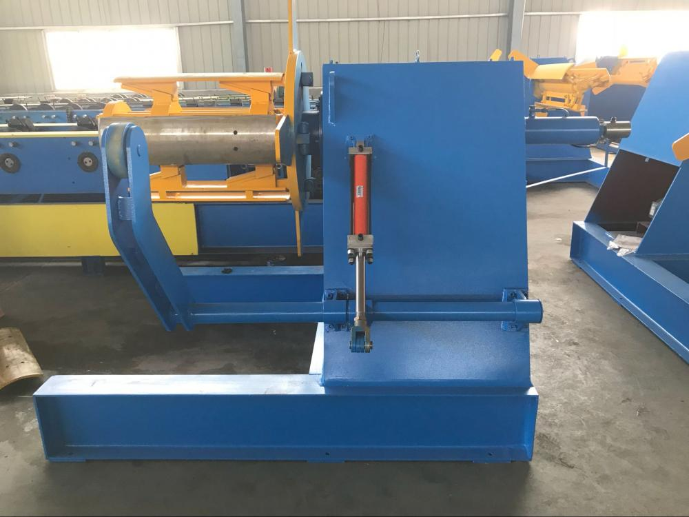 5 tons capacity steel coil decoiler