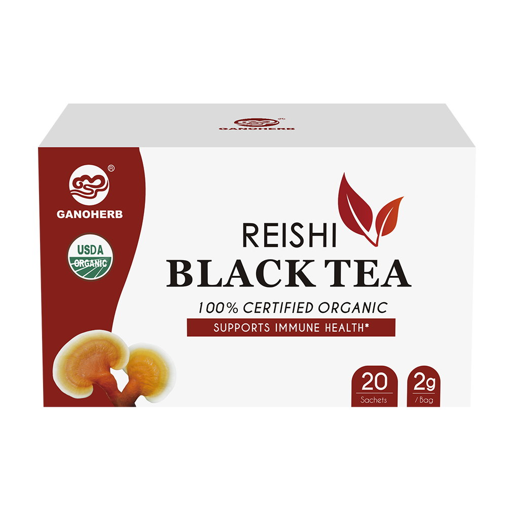 Organic Reishi Black Tea