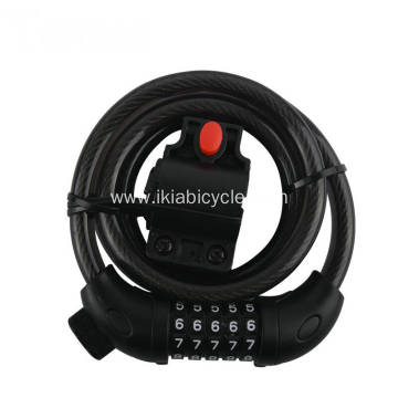 Combination Password Bicycle Cable Lock