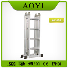 China for Aluminum Multipurpose Ladder 16 steps aluminum multipurpose ladder supply to Haiti Factories