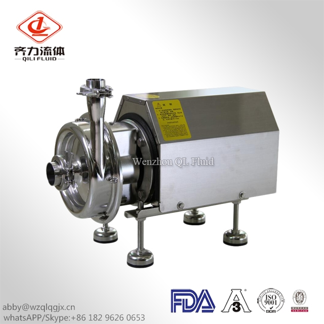 Sanitary Self-Priming Pump Water Pump Beer Pump AISI