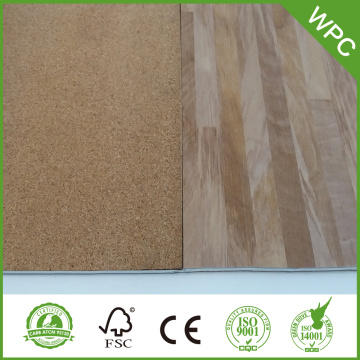 How does WPC flooring differ from LVT flooring?