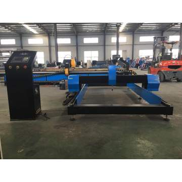 CNC plasma cutting machine with circle guide