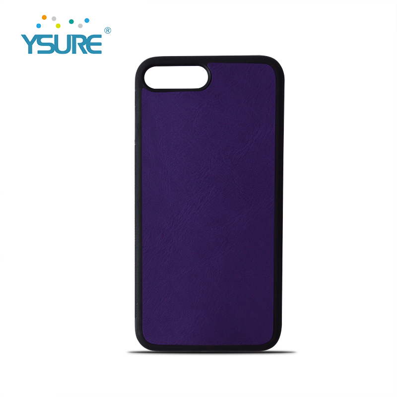 Custom Logo Leather Phone Case for Iphone 7 8 Plus