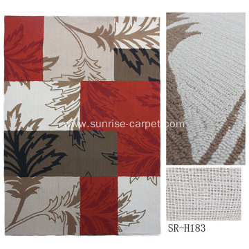 Hand Hooked Carpet for Outdoor