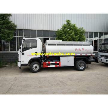 SHACMAN 2500L Petrol Transport Tanker Trucks