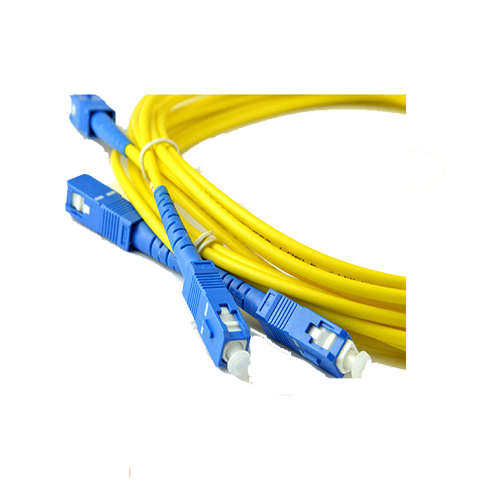 Sc Pc Sm Fiber Patch Cord
