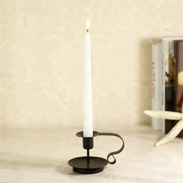 Ivory Color Higlow Dripless Taper Wedding Dinner Candle