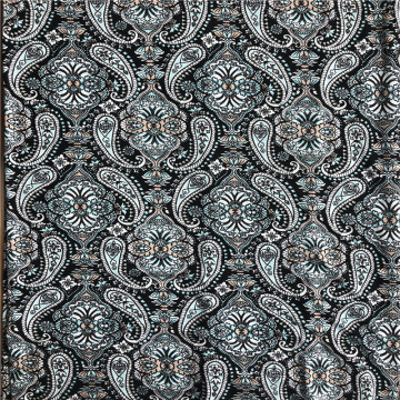Digital print rayon spandex lycra knitted fabric