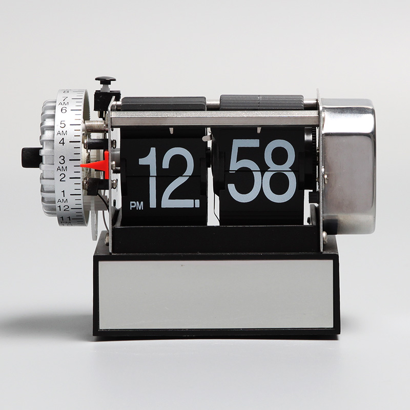 Table Flip Clock With Alarm