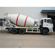 10 Wheeler 8000L Beton Mixing Trucks