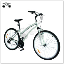 26 Inch White Women's Mountain Bicycle