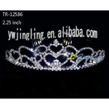 Heart shape wedding tiaras crowns