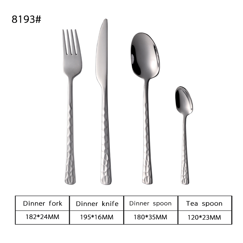 18-8 Aviation Stainless Steel Flatware