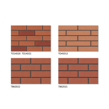 Cultured thin red brick veneer