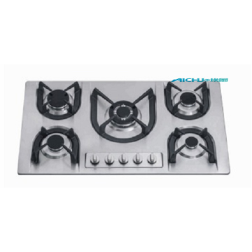 Stainless Steel Top 5 Burner Gas Stove