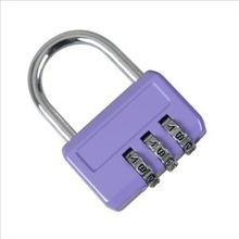 Three yards combination lock