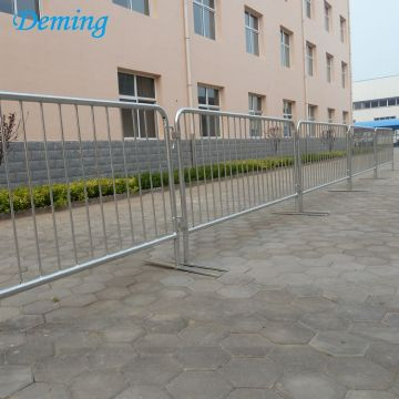 Metal Steel Galvanized Crowd Barrier