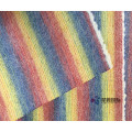 Colorful Rainbow Stripe 100% Wool Fabric