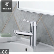 Bathroom countertop water faucet pull out with sprayer