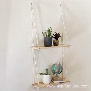 Hanging Shelves Vintage Wooden Decorative Wall Shelf