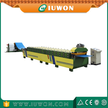 Cheapest Factory for China Auto Glazed Tile & Metal Roofing Roll Forming Machine Iuwon Steel Roof Forming Making Machine export to Bahrain Exporter
