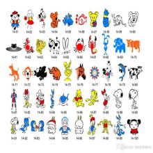 Hot Temporary Children Tattoo Stickers for Body