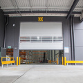Industrial Aluminum Alloy Simple Hard Fast Door
