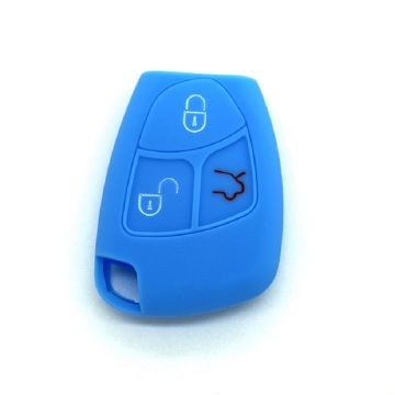 Benz silicone car key fob cover