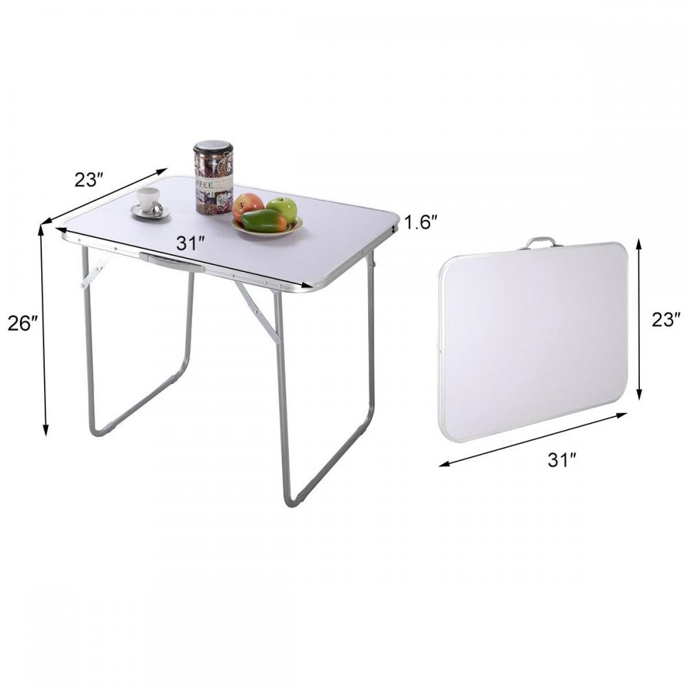 Aluminum Cover Mdf Dinner Table 5