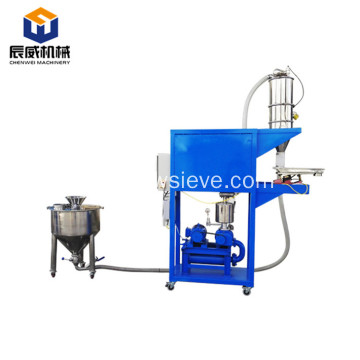 vacuum conveyor system for flour powder