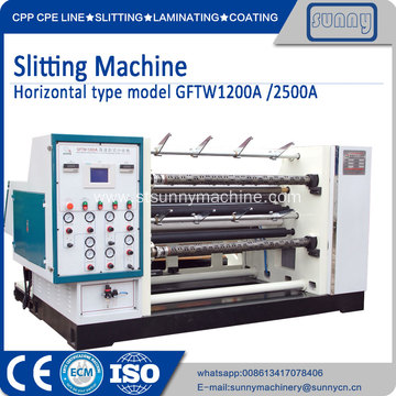 Best Quality for Jumbo Roll Slitting Rewinding Machine Jumbo Roll Slitter Rewinder machine export to Spain Manufacturer