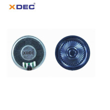 Miniature loud sound 40mm 8ohm 2w mylar speaker