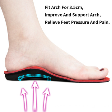 Shoes Insoles Heel Pain Plantar Fasciitis Men pad