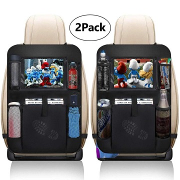 Customized 2 Pack Car Seat Back Organizer Bag