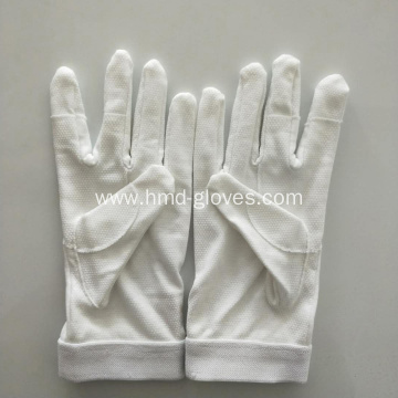 Cotton Gloves Ceremonial White