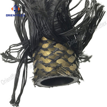Textile covered hydraulic pressure hose r5