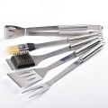 5 Pieces Stainless Steel BBQ Grill Tools Set