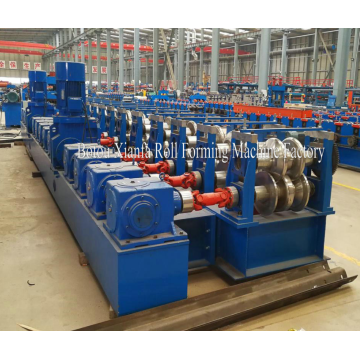 Aluminium Galvanized Highway Guardrail Roll Forming Machine