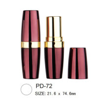 Cosmetic Round Plastic Lipstick Packaging