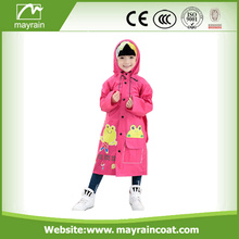 Colorful Child PVC Coverall Raincoat Overall Rainsuit