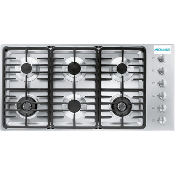 Built-in SS Gas Cooktop 6 Burner