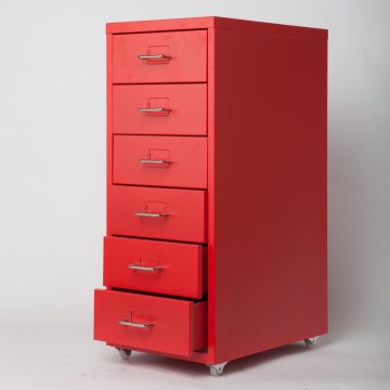 Cheapest Factory for Mobile Pedestal Drawer 6 drawer 10 drawer steel filing cabinet export to Wallis And Futuna Islands Suppliers