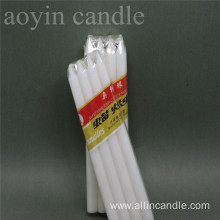 Factory price Different Sizes Household White Stick Candle