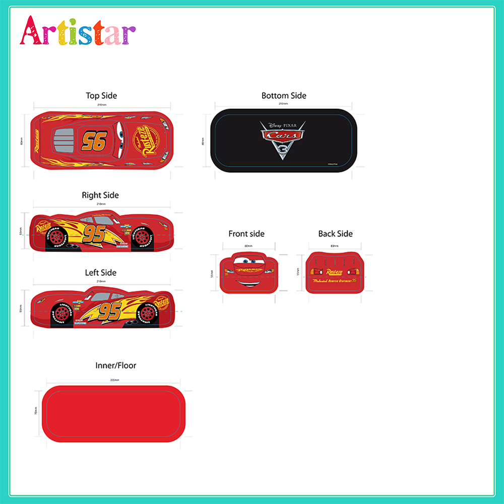Disney Cars Pencil Case