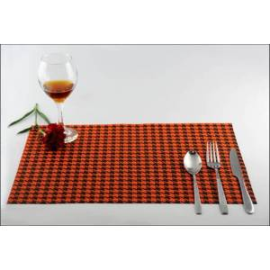 Quality for Pvc Placemat, Pvc Dining Mat, Pvc Table Mat, PVC Mat Supplied by the Manufacturer Small box England style dining pad supply to United States Wholesale