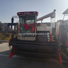 China for Self-Propelled Rice Harvester working width 2000mm rice combine harvesting with cab export to Heard and Mc Donald Islands Factories