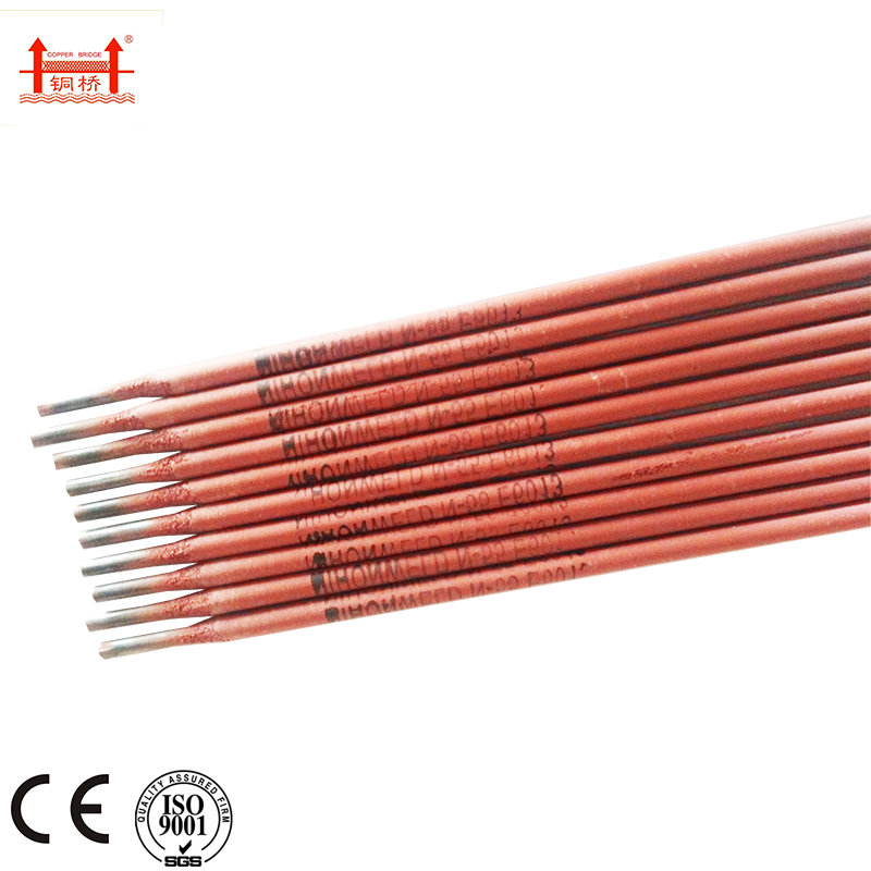 E6010 high cellulose coated Welding Electrode Rod